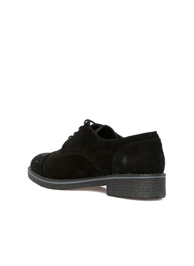 Divarese Divarese 5023807 Kum  Kadın Süet Ayakkabı Siyah